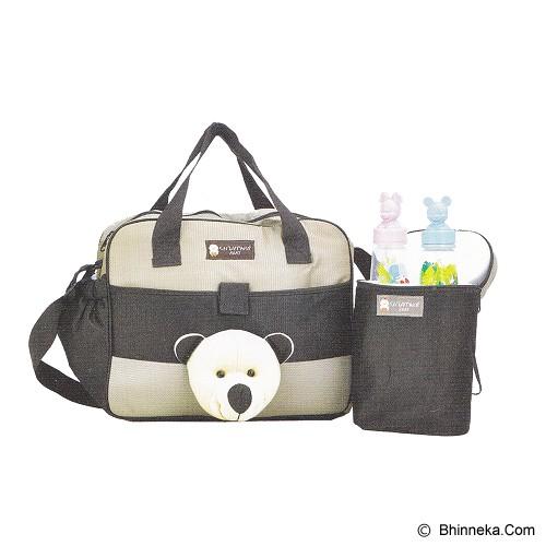 CHINTAKA Tas Bayi Besar Aplikasi Boneka + TBSD [CBT 151200B] - Brown - Tas Perlengkapan Bayi